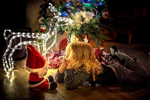 Père Noël, regarde comme je suis sage !