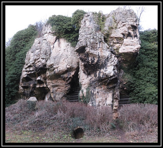 Creswell Crags. Dog Hole Cave