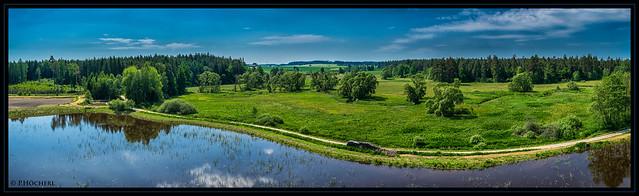 Teichlandschaft bei Tischenreuth
