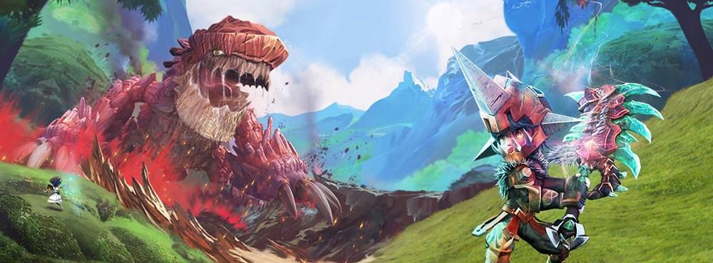 Anime MMORPG Dragomon Hunter Announced For North America a