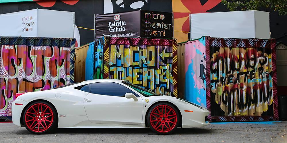 Rick Ross Ferrari 458 Italia Gets Red Forgiato Wheels 2 Flickr
