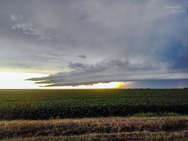 080711 - Nebraska Supercell / Arcus / Shelf Cloud! (Remastered)