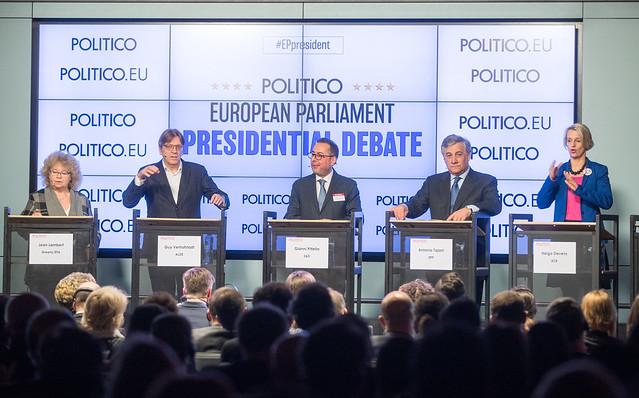 20170111 - POLITICO's European Parliament Presidential Debate