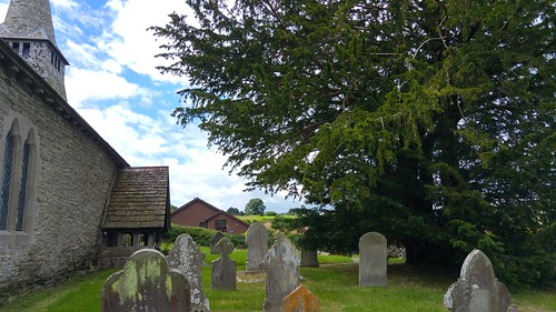 St Michael's Church  and the Discoed Yew | by pluralzed
