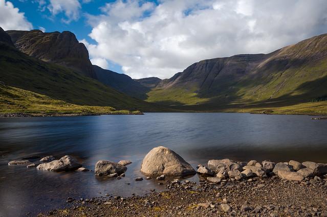 Loch Coire Nan Arr Reservoir