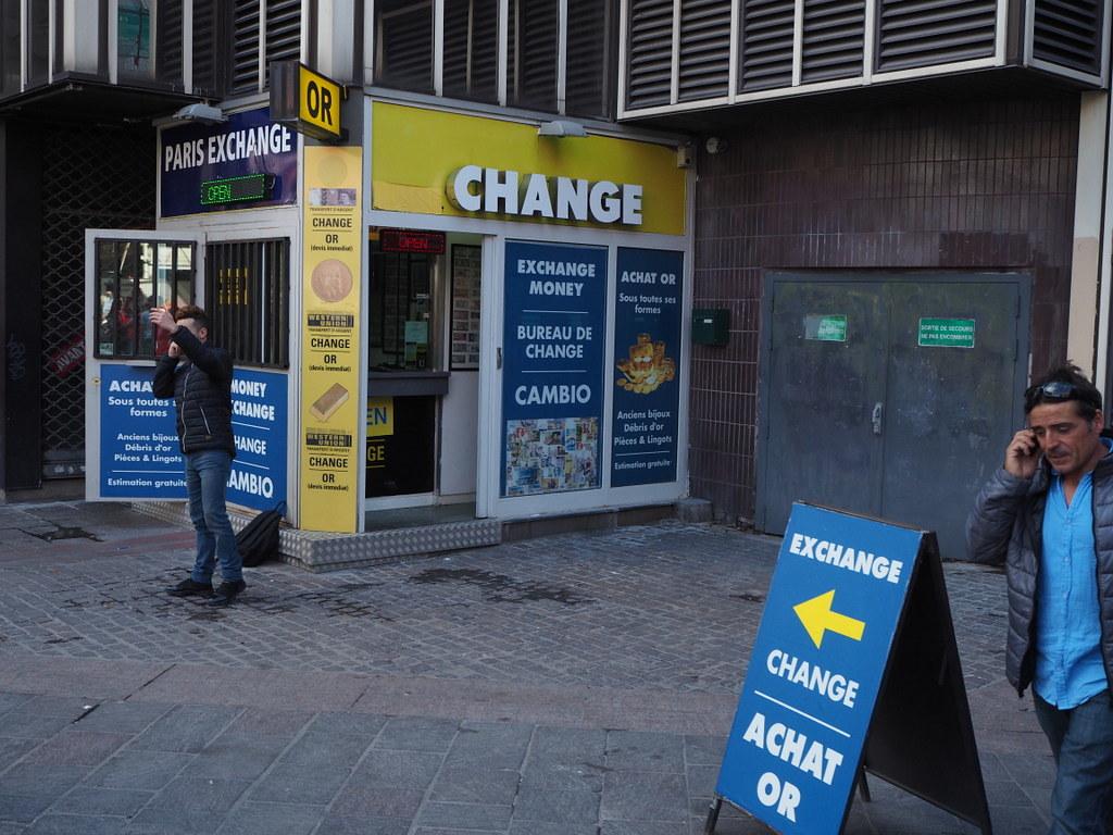 Money exchange location in paris bureau de change à pari