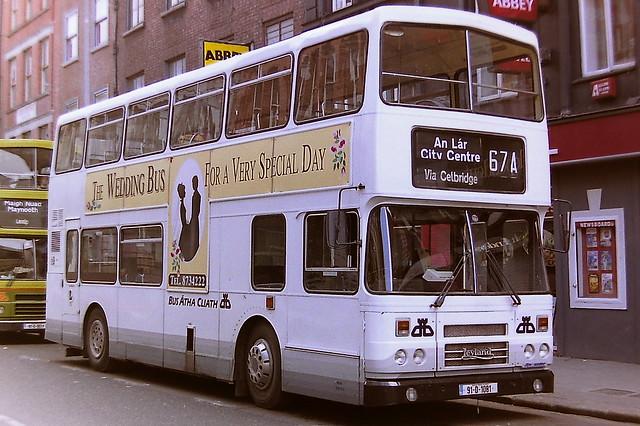 DUBLIN BUS/BUS ATHA CLIATH RH81 91-D-1081