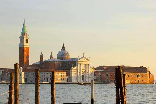 Atardecer sobre San Giorgio Maggiore