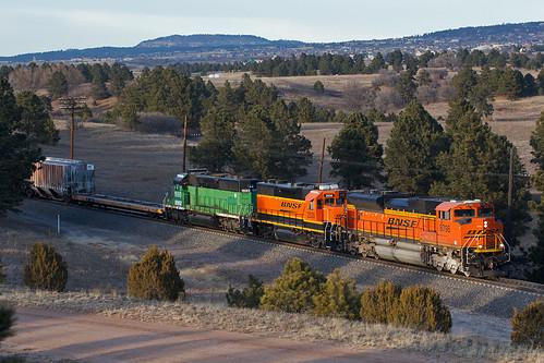 bnsf bnsf8798 emd sd70ace usafa airforceacademy colorado jointline pikespeaklocal train railroad