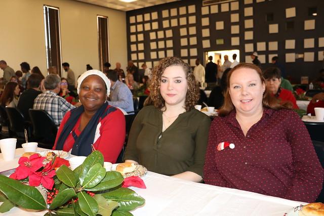 Christmas Celebration and Service Awards
