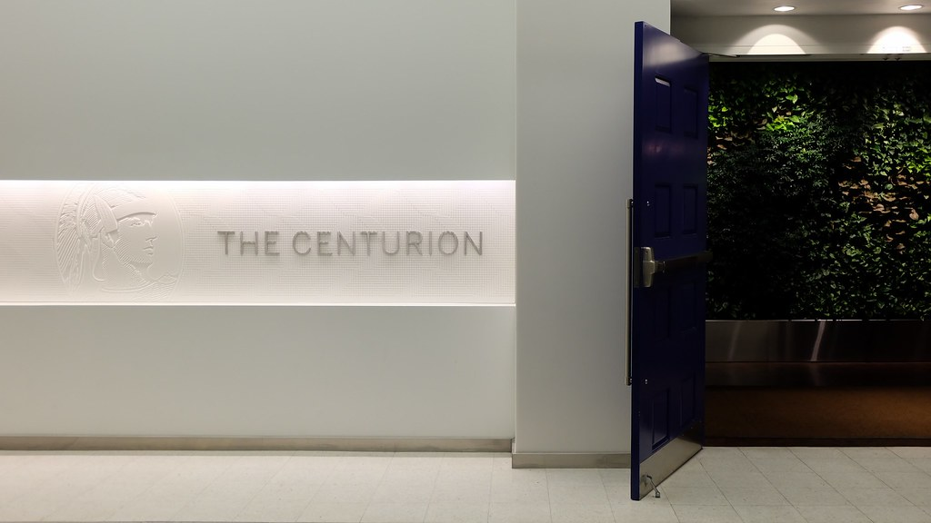 American Express Centurion Lounge Las Airport Entrance