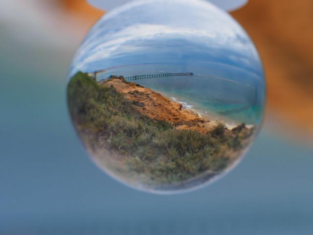 Glass ball reflection - PC132816-1
