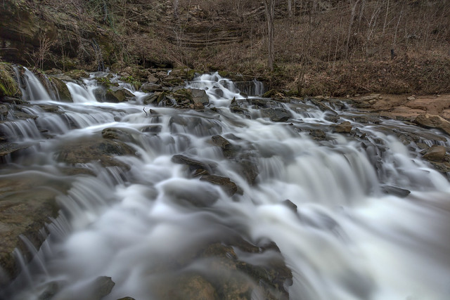 Unnamed falls, White County, Tennessee 3