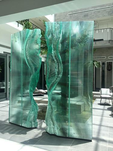 Split Wall Lagos | by Danny Lane Sculpture