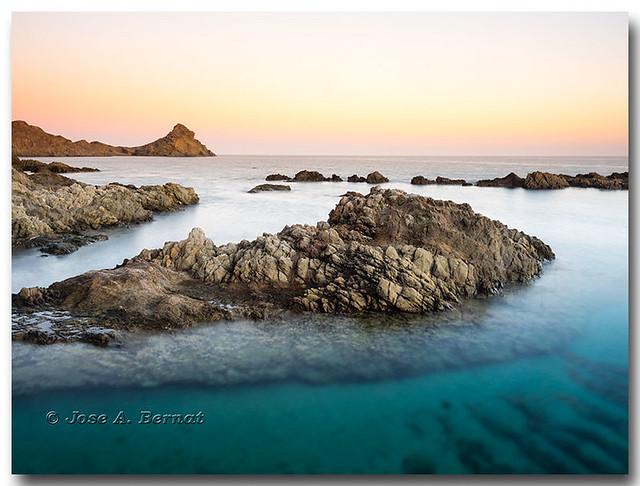 Arrecife de las Sirenas,  Parque natural del Cabo de Gata - Nijar, Almeria, España.