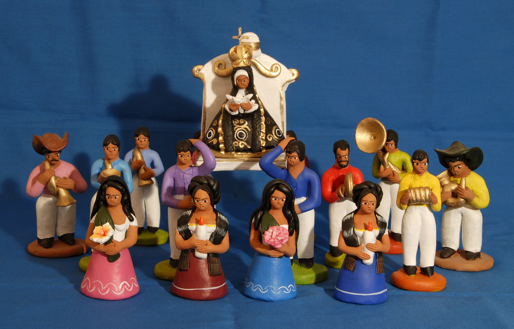 Oaxacan Pottery Soledad Procession Aguilar