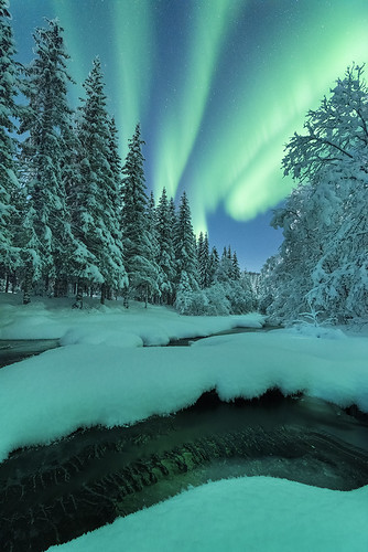 """Wonders of winter"" | by Ronny Årbekk - http://arcticphotography.no"