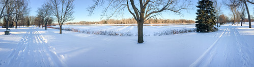 winter carletonplace iphone mississippiriver pano riversidepark snow ontario canada ca hbm