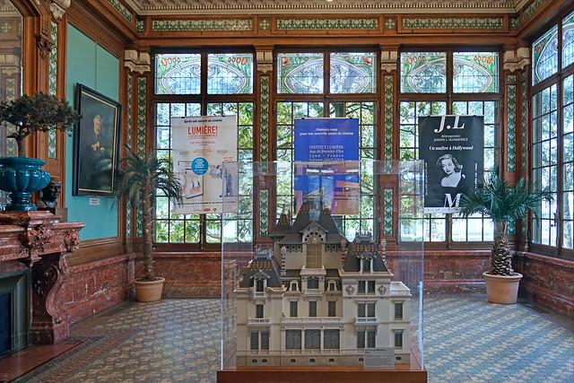 La villa Lumière (Institut Lumière, Lyon)