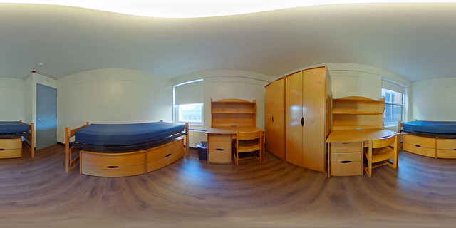 Plimpton Double room (click for 360 view)