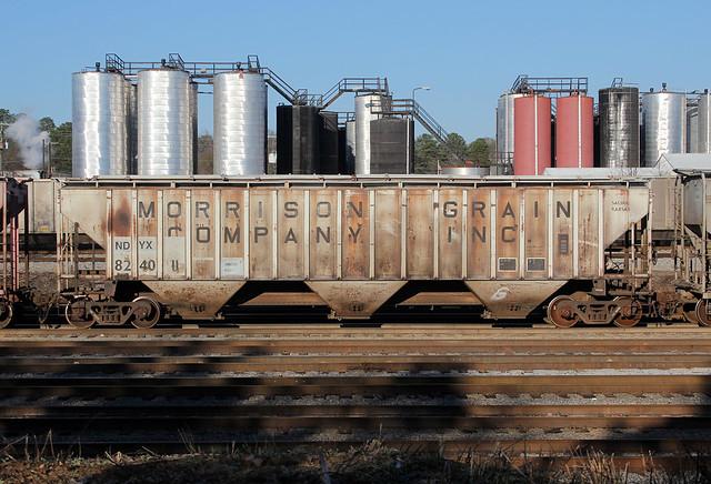 Railroad Hopper Car