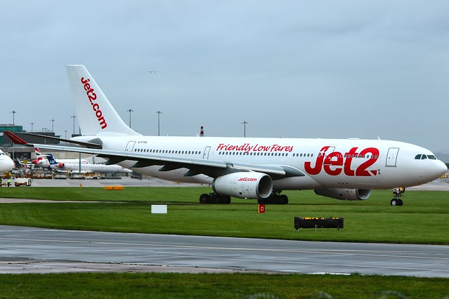 Jet2.com Operated by Air Tanker Services A330-200 G-VYGL
