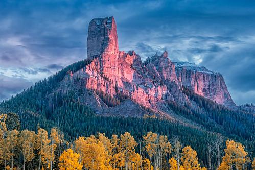 colorado fallcolors landscape sunset