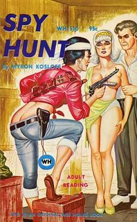 Wee Hours Books 510 - Myron Kosloff - Spy Hunt
