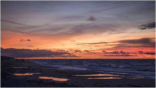 Sundown in Ahrenshoop