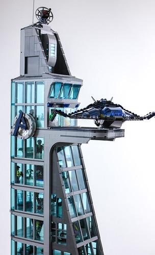 Avengers Tower   by Gzu's Bricks