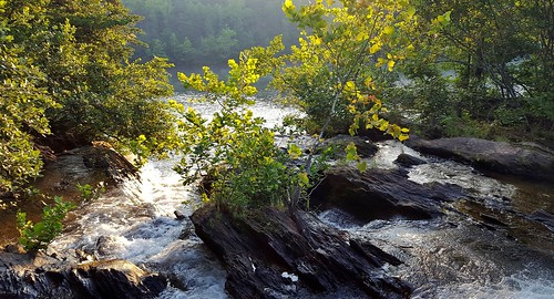 water lake rapids falls