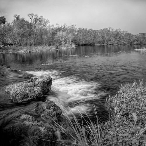 nature riverscape usa spring landscape infrared lake falsecolor water cloud sky centralflorida panorama ©edrosack deleonsprings florida cloudy ir edrosackcom
