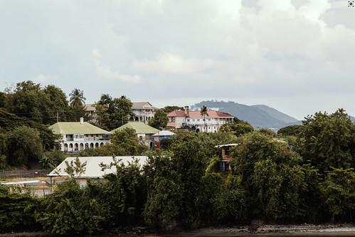 stlucia saintlucia caribbean carib karibik kreuzfahrt aida travel cruise clouds ocean