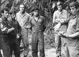 1973 Survival training in Malaya
