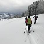 Skitour auf den Bachtel Dez 17'