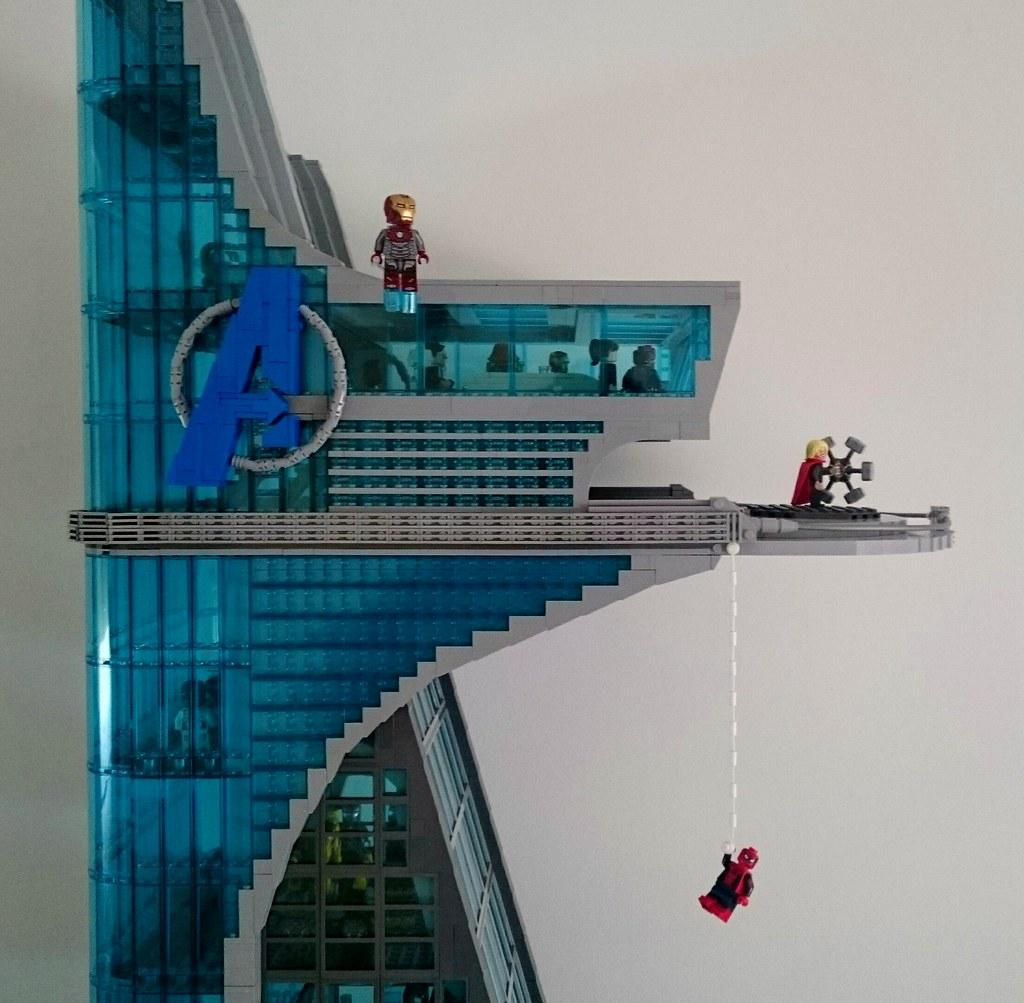 Lego custom Avengers Tower | Michael | Flickr