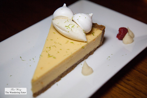 Key lime pie with meringues | by thewanderingeater