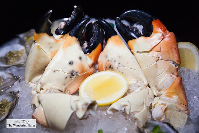 Jumbo Stone crab claws