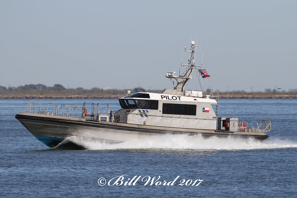 Yellow Rose Pilot Vessel MMSI 367442390 Houston Pilots Ass