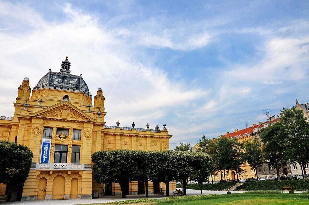 Umjetnicki Paviljon Zagreb Art Pavilion Zagreb Kunstpav Flickr