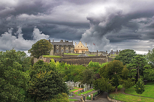 stirling castle scotland sky landscape historic history pentax