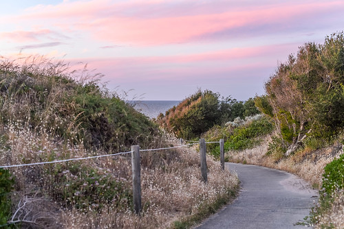 backbeach manualfocus sunset bunbury wa