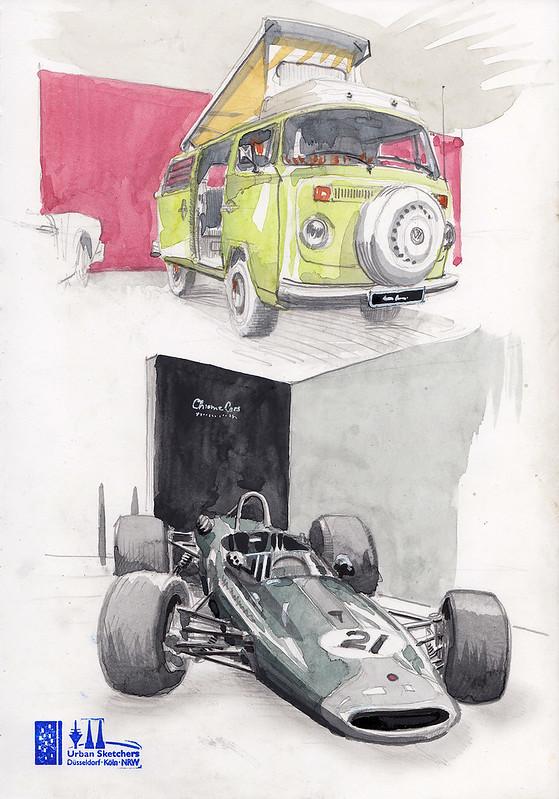 VW T2 + Brabham BT23-5 (1967 Jochen Rindt)