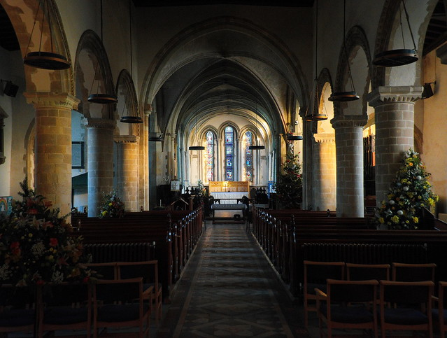Nave of St Mary the Virgin Church, Minster-in-Thanet