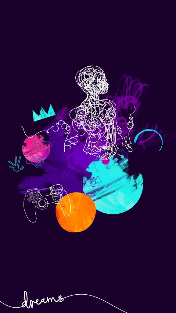 Dreams PS4 Wallpaper 640x1136 Mediamolecule