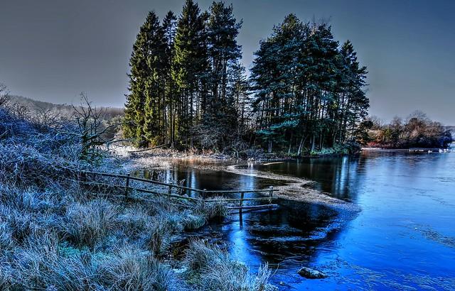 Winter at Knapps Loch