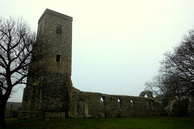 St. Margaret's Old Church Ruins, Hopton