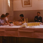 St Arnaud High School Staff dinner Dec 1960