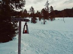 Langis Mountain, Sarnen OW, Switzerland - Signpost