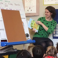 Kindergarten class visit